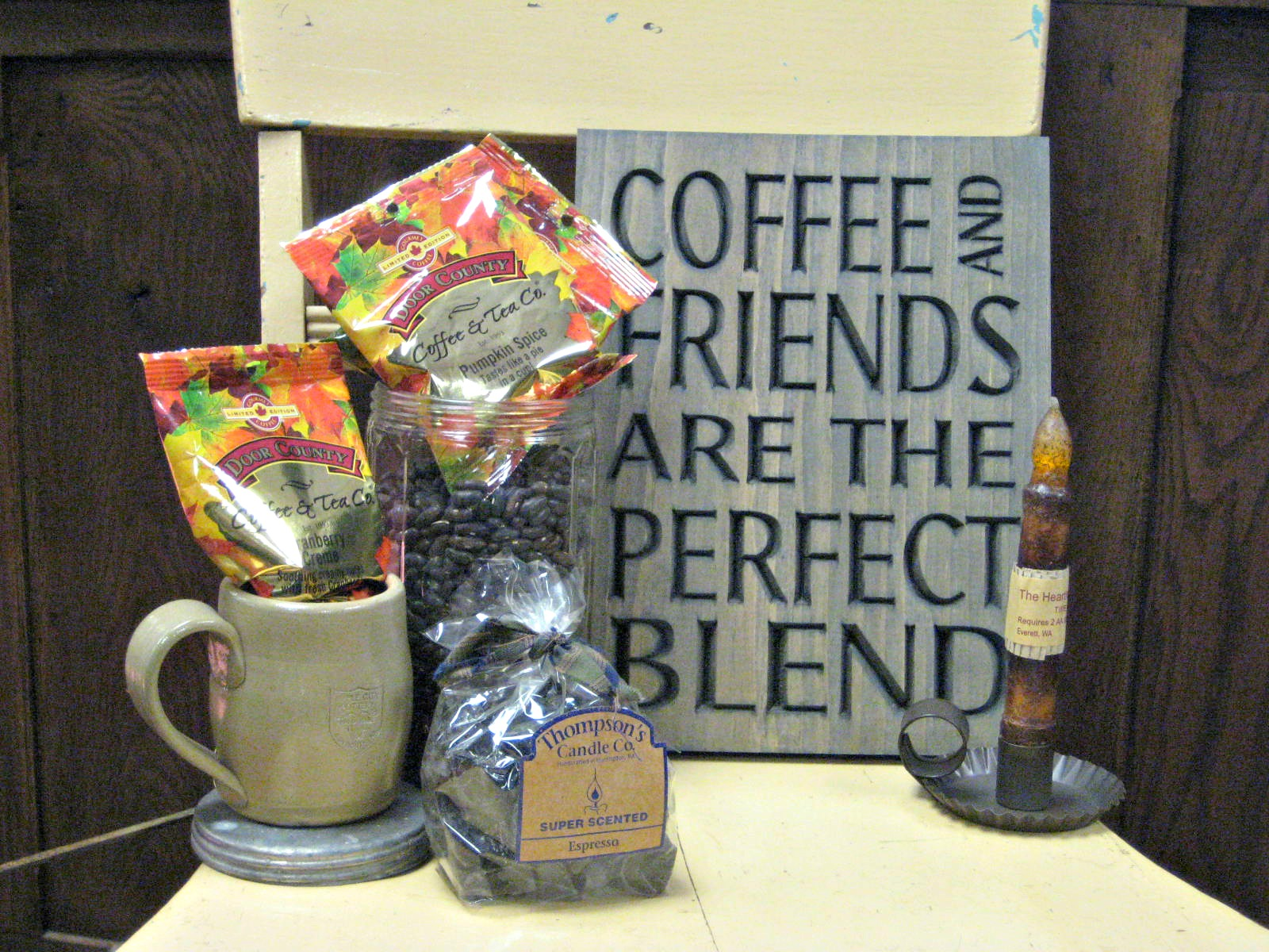 Coffee and Wall Sign Gift Shop