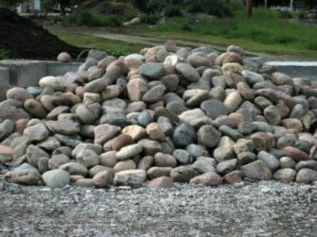 Large, Medium, and Small Cobbles, Kewanee Flats, and Mexican Pebbles (All Separate)
